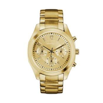 Caravelle Women's Crystal Stainless Steel Chronograph Watch - 44L238