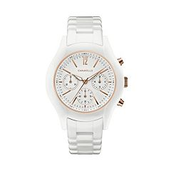 Caravelle Women's Ceramic Chronograph Watch - 45L174