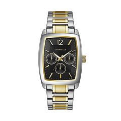 Caravelle Men's Two Tone Stainless Steel Watch - 45C113