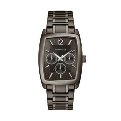 Caravelle Men's Gunmetal Ion-Plated Stainless Steel Watch - 45C114