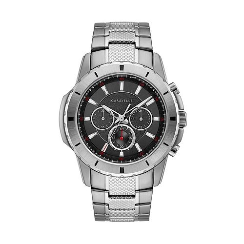 6c020848a Caravelle Men's Stainless Steel Chronograph Watch - 43A147
