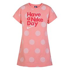 Girls 4-6x Nike 'Have A Nike Day' Dress