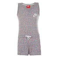 Girls 4-6x Nike Polka-Dot Pocket Romper