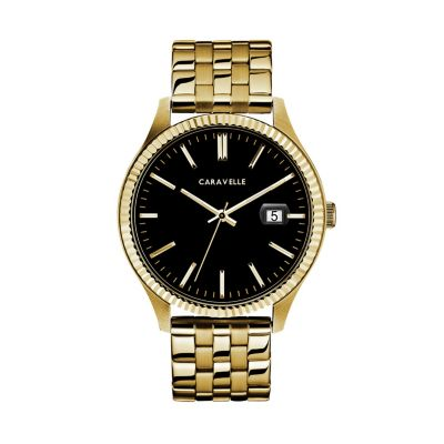 Caravelle Men's Stainless Steel Watch - 44B121