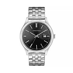 Caravelle Men's Stainless Steel Watch - 43B157