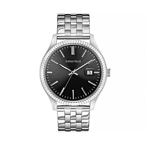 Caravelle by Bulova Men's Stainless Steel Watch - 43B157