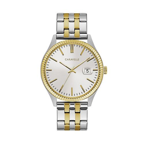 Caravelle by Bulova Men's Two Tone Stainless Steel Watch - 45B148