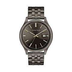 Caravelle Men's Gunmetal Ion-Plated Stainless Steel Watch - 45B149