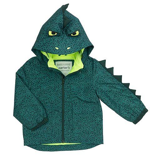 Baby Boy Carter's Dinosaur Lightweight Rain Jacket