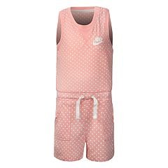 Girls 4-6x Nike Polka-Dot Romper