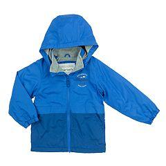 Baby Boy Carter's Fleece-Lined Color-Blocked Transitional Lightweight Jacket