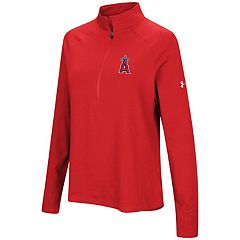 Women's Under Armour Los Angeles Angels of Anaheim Passion Pullover