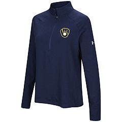 Women's Under Armour Milwaukee Brewers Passion Pullover