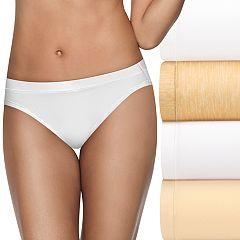 Hanes Ultimate 4-pack + 1 Bonus Microfiber Cool Comfort Bikini Panties HXMFKB