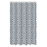 Bath Bliss Geometric Dobby Weave Shower Curtain