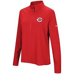 Women's Under Armour Cincinnati Reds Passion Pullover