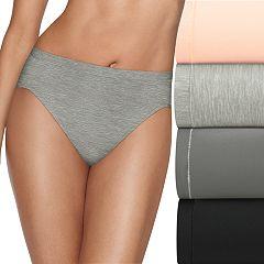 Hanes Ultimate 4-pack + 1 Bonus Microfiber Cool Comfort Hi-Cut Panties HXMFHB