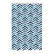 Bath Bliss Chevron Dobby Weave Shower Curtain