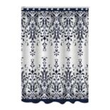 Bath Bliss Jacquard Lace Shower Curtain
