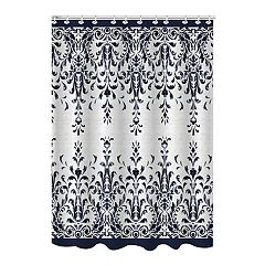 Bath Bliss Jacquard Lace Shower Curtain