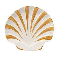 Certified International Coastal Discoveries 3D Shell Platter