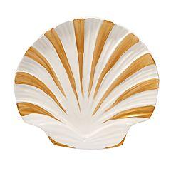Certified International Coastal Discoveries 3D Shell Platter
