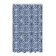 Bath Bliss Curls Jacquard Shower Curtain