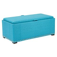 Ave Six Florence Storage Bench & Cube 3 pc Set