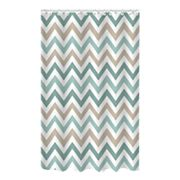 Bath Bliss Chevron Jacquard Shower Curtain