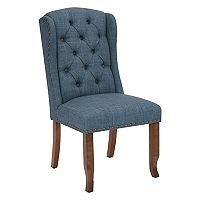 Ave Six Jessica Tufted Winged Dining Chair