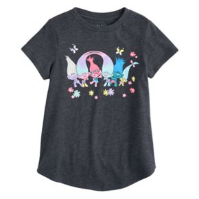 Girls 4-10 Jumping Beans® DreamWorks Trolls Poppy, Creek & Smidge Tee