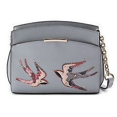 Jennifer Lopez Heather Bird Mini Crossbody Bag