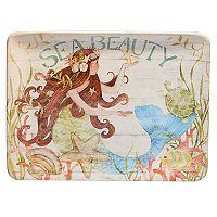 Certified International Sea Beauty Rectangular Platter