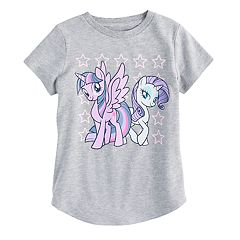 Girls 4-10 Jumping Beans® My Little Pony Rarity & Twilight Tee