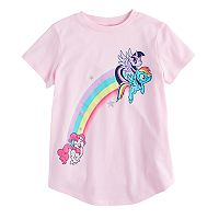 Girls 4-10 Jumping Beans® My Little Pony Twilight Sparkle, Rainbow Dash & Pinkie Pie Rainbow Tee