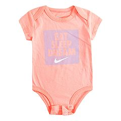 Baby Girl Nike 'Eat, Sleep, Dream' Graphic Bodysuit