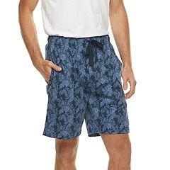 Men's Van Heusen Printed Jersey Sleep Shorts