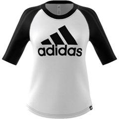 Women's adidas Branded Baseball Tee