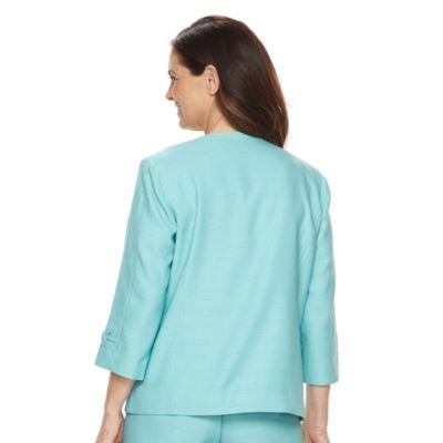 Women's Alfred Dunner Studio Embellished Open-Front Jacket