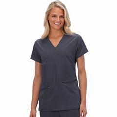 Women's Jockey Scrubs Performance RX Reverse Panel V-Neck Top