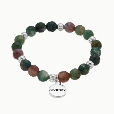 "love this life Jasper ""Journey"" Stretch Bracelet"