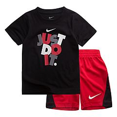 Baby Boy Nike 'Just Do It.' Graphic Tee & Shorts Set