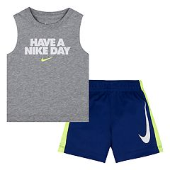 Baby Boy Nike 'Have A Nike Day' Muscle Tee & Shorts Set