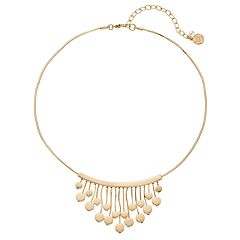 Dana Buchman Disc Fringe Necklace