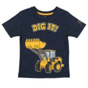 "Toddler Boy John Deere ""Dig It!"" Bulldozer Graphic Tee"