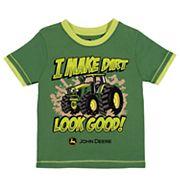 Toddler Boy John Deere 'I Make Dirt Look Good!' Tractor Graphic Tee