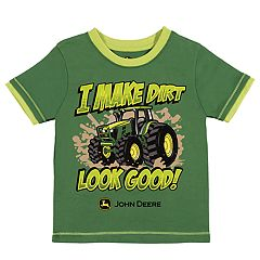 Toddler Boy John Deere 'I Make Dirt Look Good!' Tractor Graphic Tee