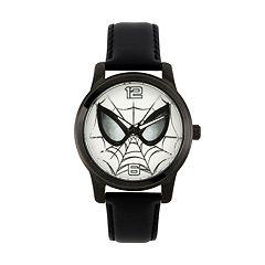 Marvel Ultimate Spider-Man Men's Leather Watch