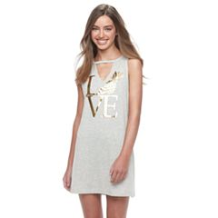 Women's Miken Foil 'Love' Pineapple Cover-Up