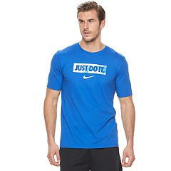 Big & Tall Nike Dry 'Just Do It' Basketball Tee